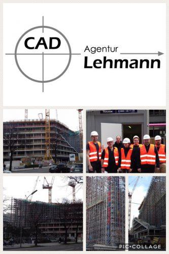 Praktischer Ausbildungslehrgang im Axel-Springer-Neubau